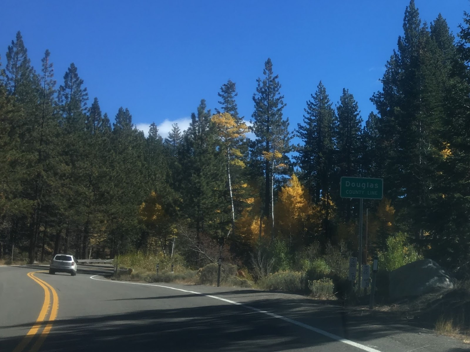 nv 28 passes by the spooner lake district of lake tahoe state park before it terminates at us 50 i turned westbound on us 50 headed back towards california