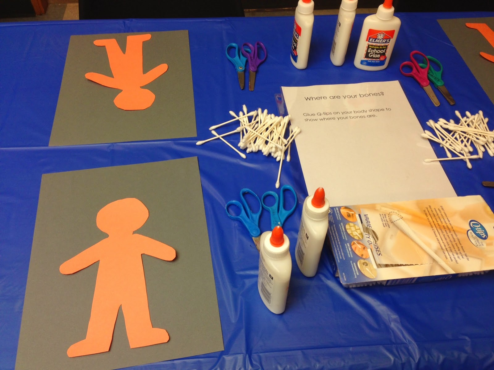 Preschool Lab My Body on Body Part With This Activity Children