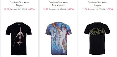 camisetas hombre de Star Wars