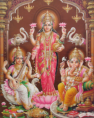 Hindu Goddess Mahalakshmi Images and Picture Gallery