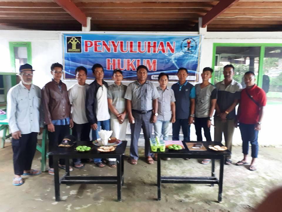 Kepala Desa Malangga Ucapkan Terima Kasih Atas Bantuan Hukum LBHP Tolitoli