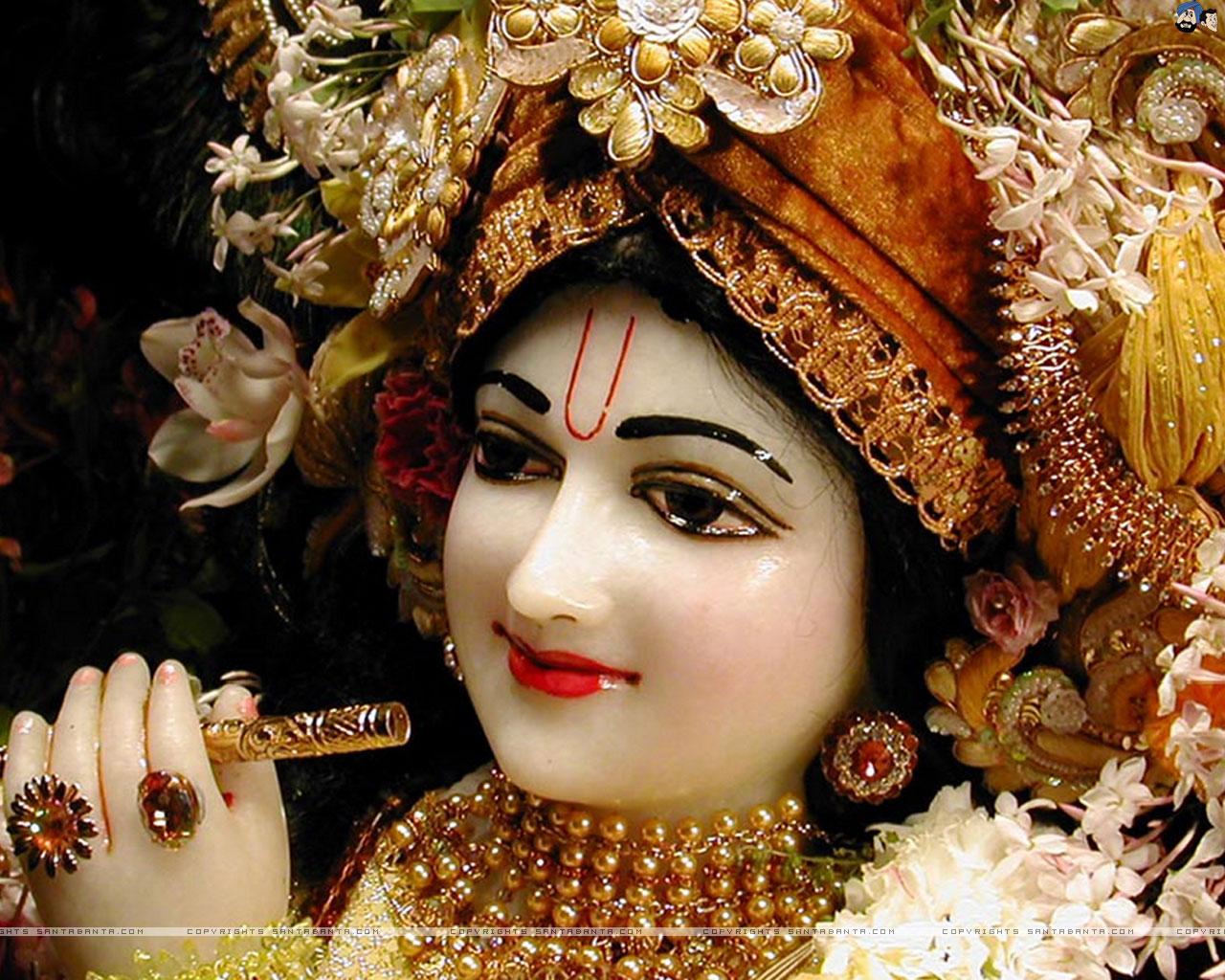 Creativity Is God: Krishna -multicoloured Person