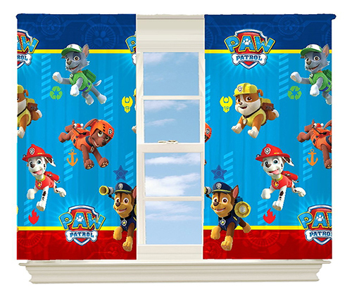 Paw Patrol Paw-some Room Darkening Window Panel