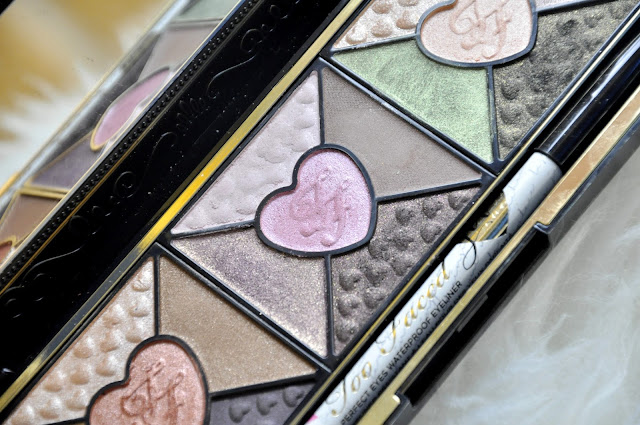paletka cieni w jesiennych kolorach - too faced love