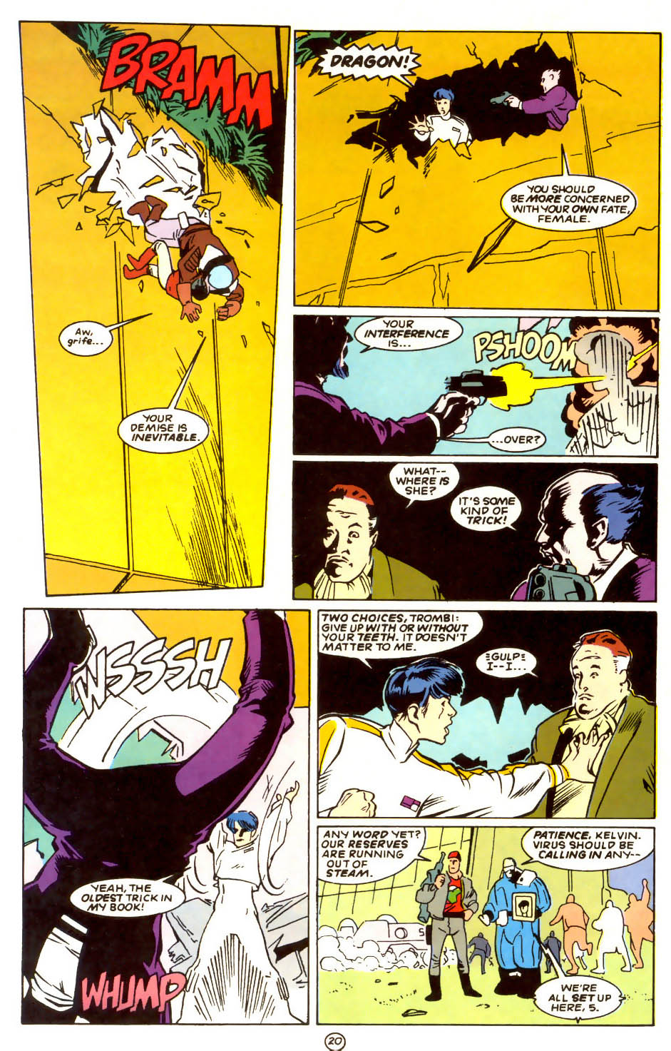 Legion of Super-Heroes (1989) 56 Page 20