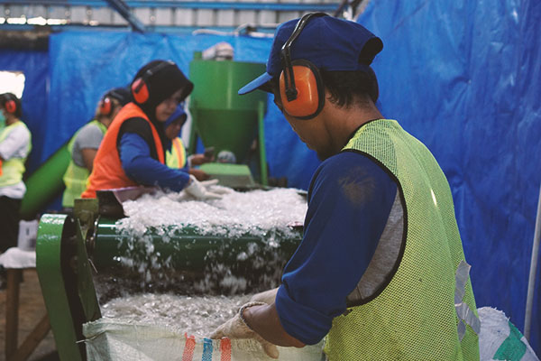 recycle business unit smapah plastik tangsel