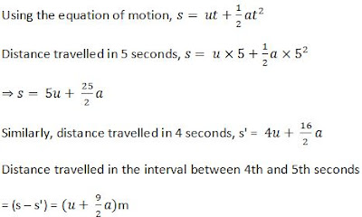 Extra Questions for Class 9th: Ch 8 Motion Science - Study Rankers
