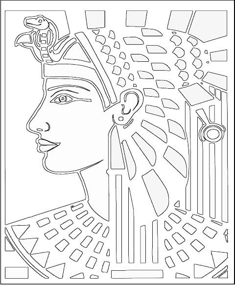 Ancient Egyptian Coloring Pages 061611» Vector Clip Art ...