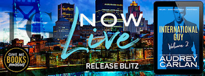 Release Blitz INTERNATIONAL GUY: VOLUME 2 by Audrey Carlan