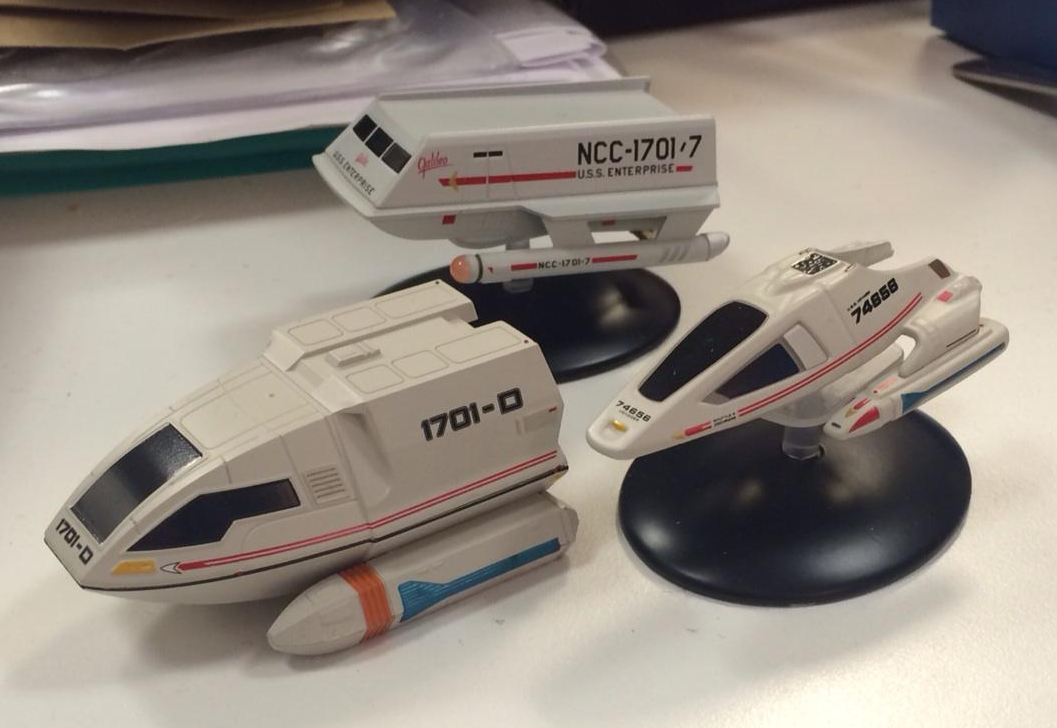 the trek collective starships collection s shuttlecraft enterprise