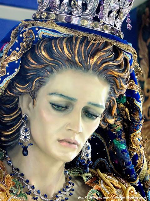 Virgen de los Reyes. Cofradía Cristo del Gran Poder. León. Foto G. Márquez
