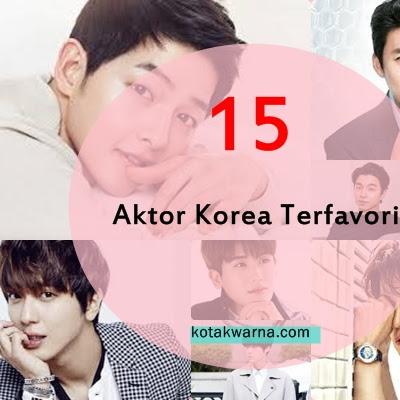 15 Aktor Korea Terfavorit