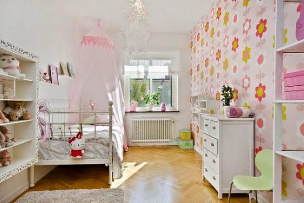 habitación divertida para niña