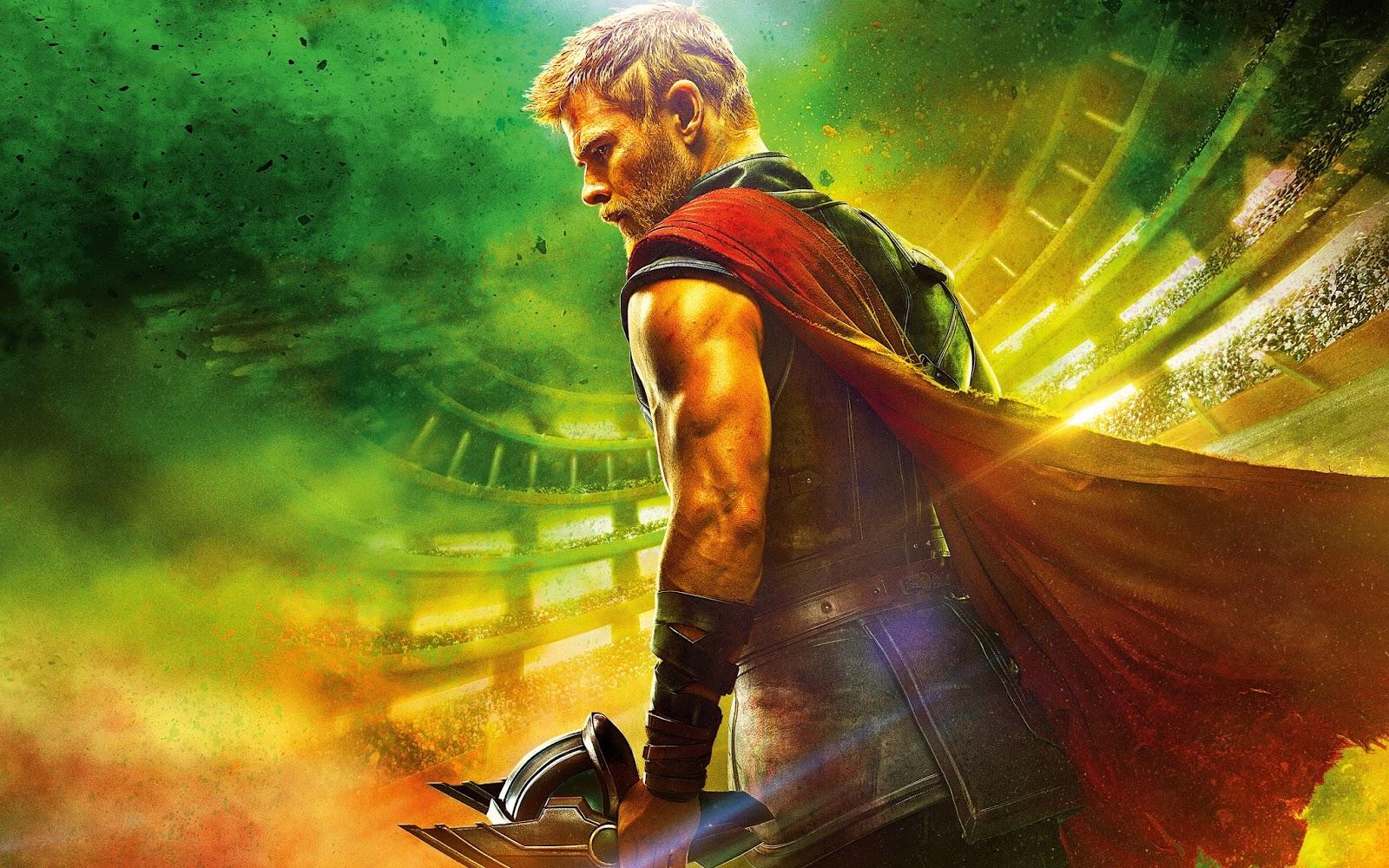 Daniel O Connor Thor Ragnarok 2017