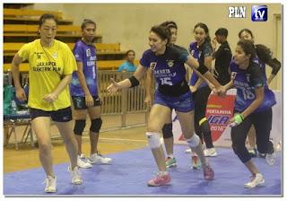 Foto Paha Atlet Voly Yolla Yuliana