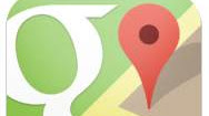 App navigatore Google Maps per iPhone e iPad
