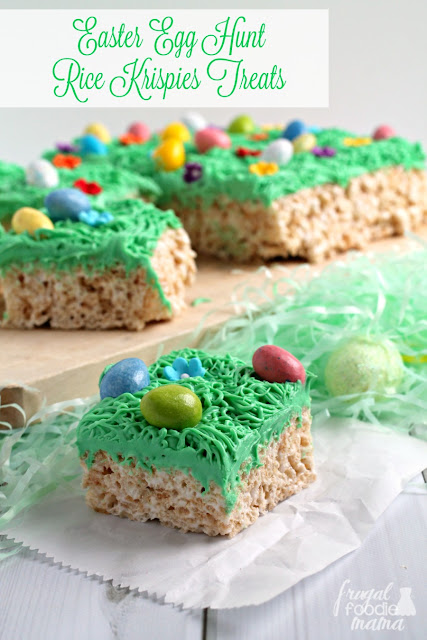 Inspired by a favorite springtime tradition, these fun & easy to make Easter Egg Hunt Rice Krispies® Treats are a must-make for your Easter celebration.