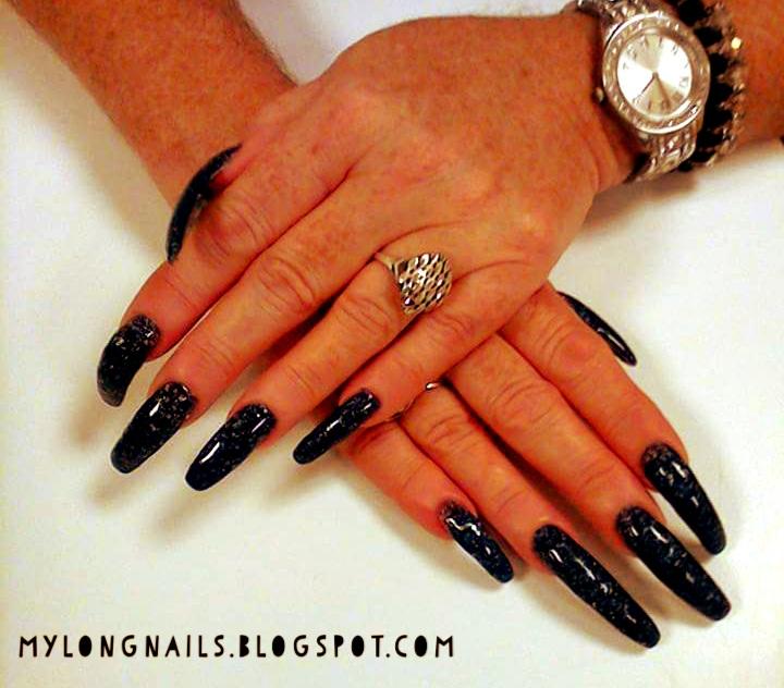 Long Nails: Cheri Henry\'s natural long nails - 7
