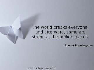 Inspirational Quote by Ernest Hemingway