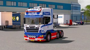 Scania Van Der Ree truck mod