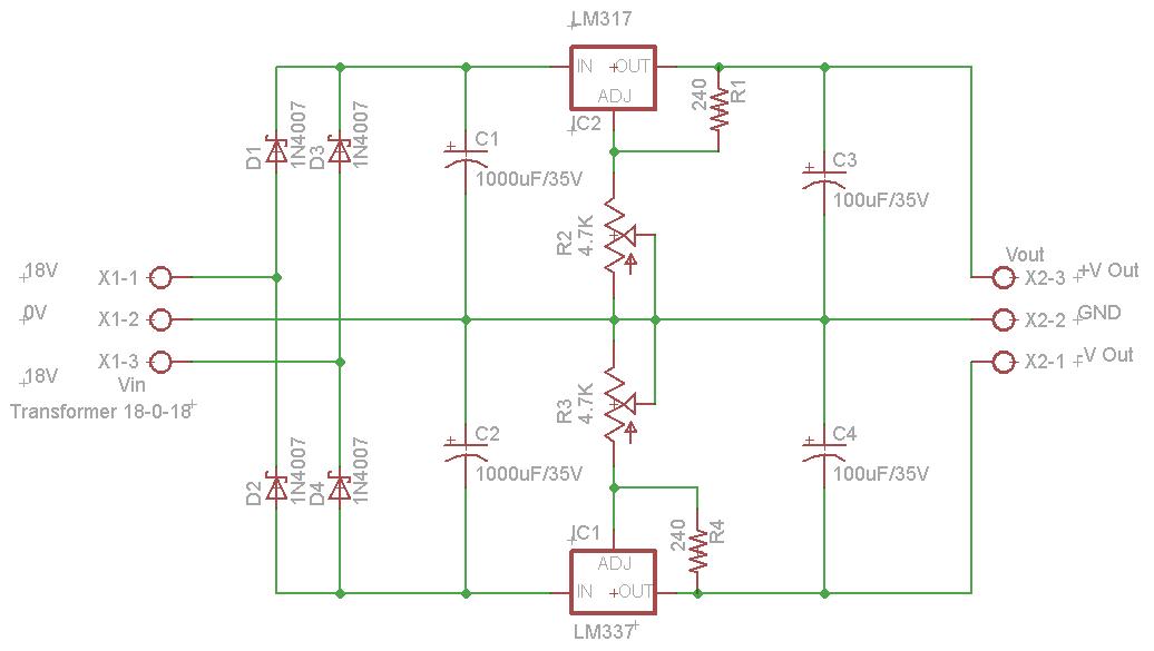 dual adjustable dc power supply. Black Bedroom Furniture Sets. Home Design Ideas