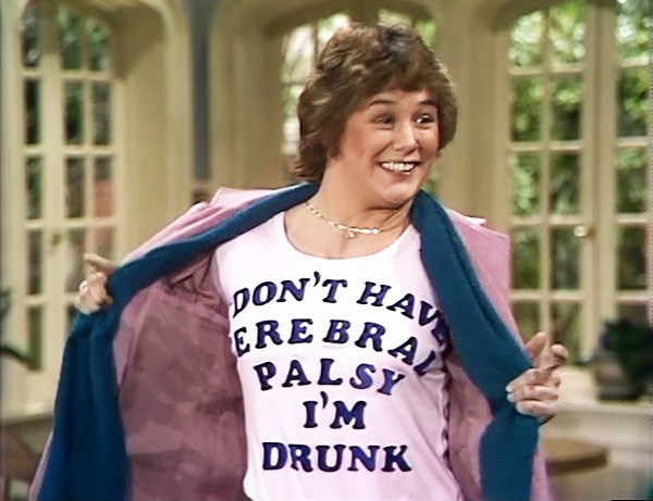 I DON'T HAVE CEREBRAL PALSY I'M DRUNK t-shirt.  PYGear.com