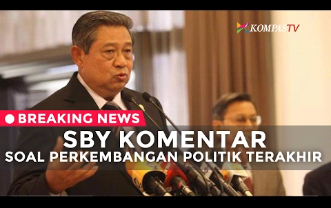 Lewat YouTube, SBY Tanggapi 3 Tahun Kepemimpinan Jokowi-JK