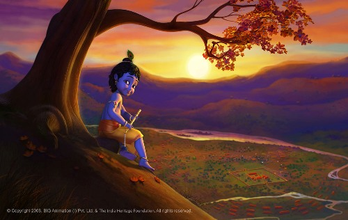 Lord Krishna With Gopis 3d Wallpaper Little Krishna Junglekey In Image 250