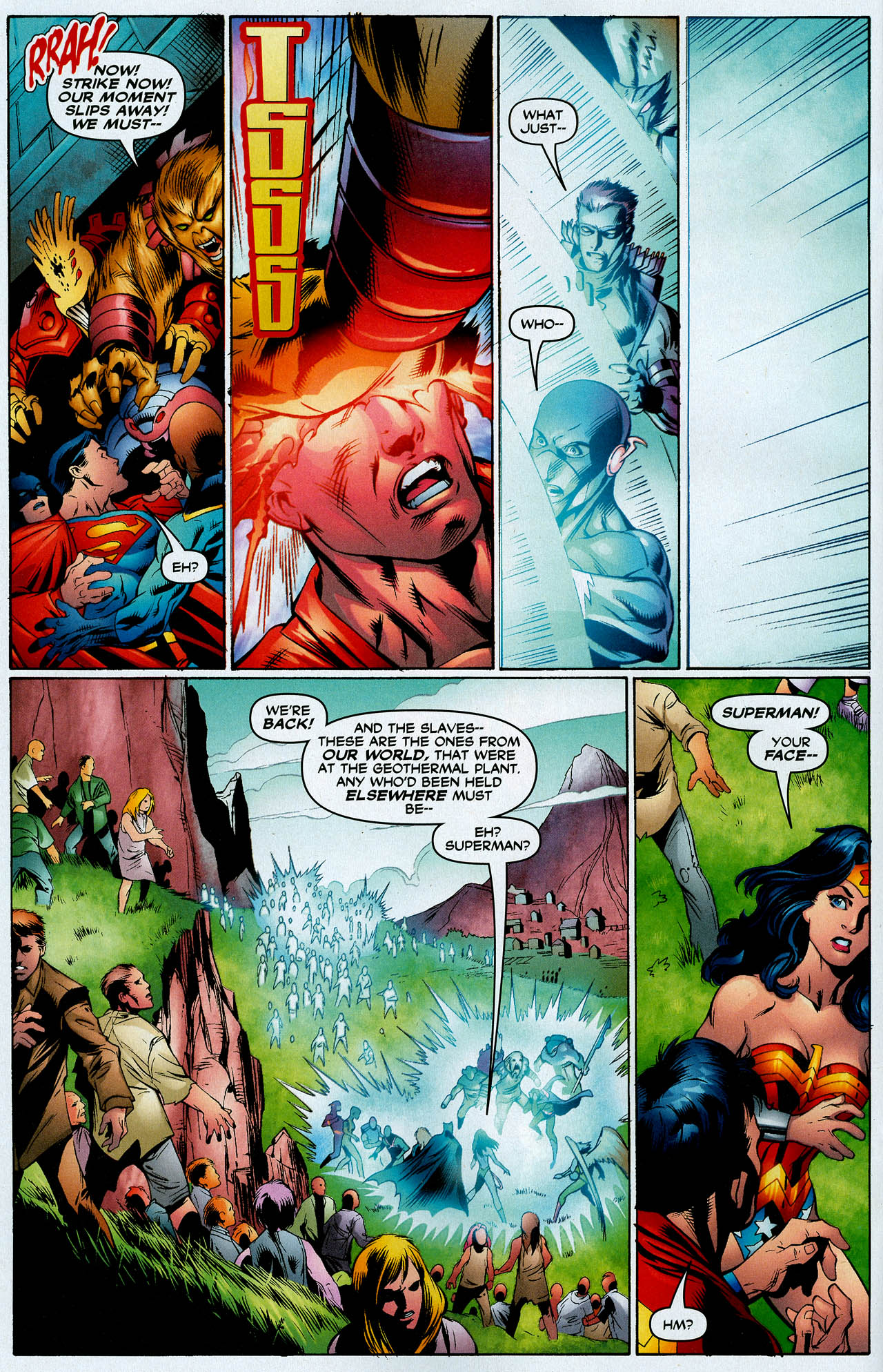 Read online Trinity (2008) comic -  Issue #14 - 15