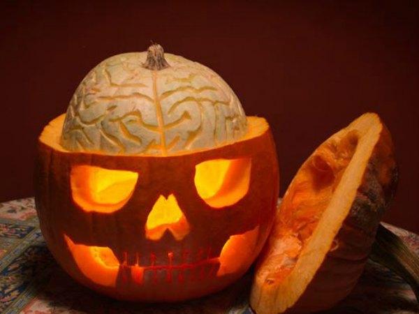 11 Ideas Para Decorar Calabazas De Halloween Trucos De Bricolaje - Decoracion-con-calabazas