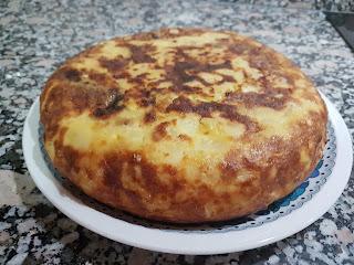 Tortilla De Patatas En Fussioncook