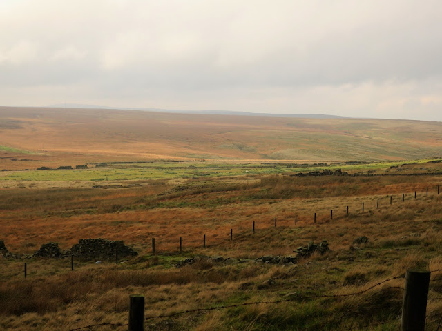 Moorland near Warley Reservoir, West Yorkshire.