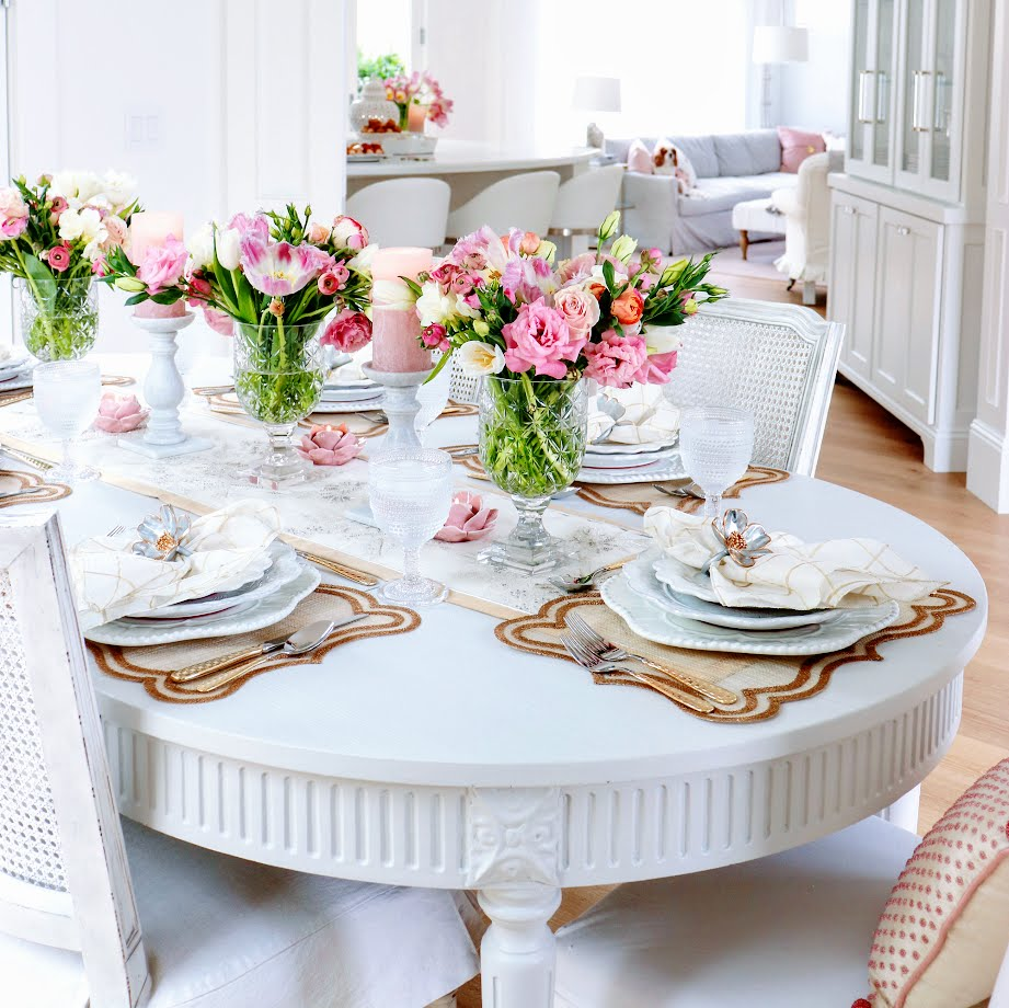 How To Create a Beautiful Spring Brunch Tablescape by Kristy Wicks | Cool Chic Style Fashion