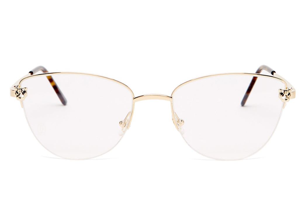 Panthère de Cartier cat-eye metal glasses | wish list, accessories | Allegory of Vanity
