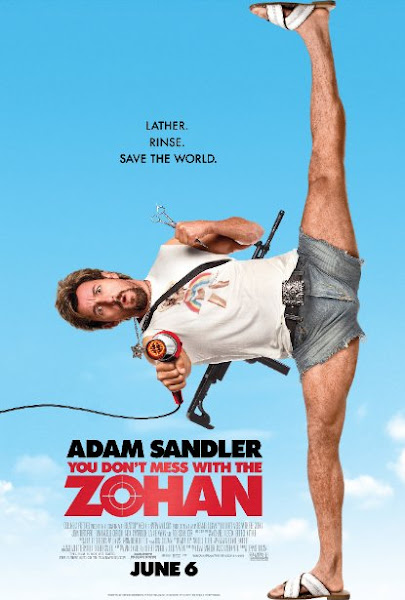 Poster Of You Don't Mess With The Zohan 2008 UnRated 720p Hindi BRRip Dual Audio