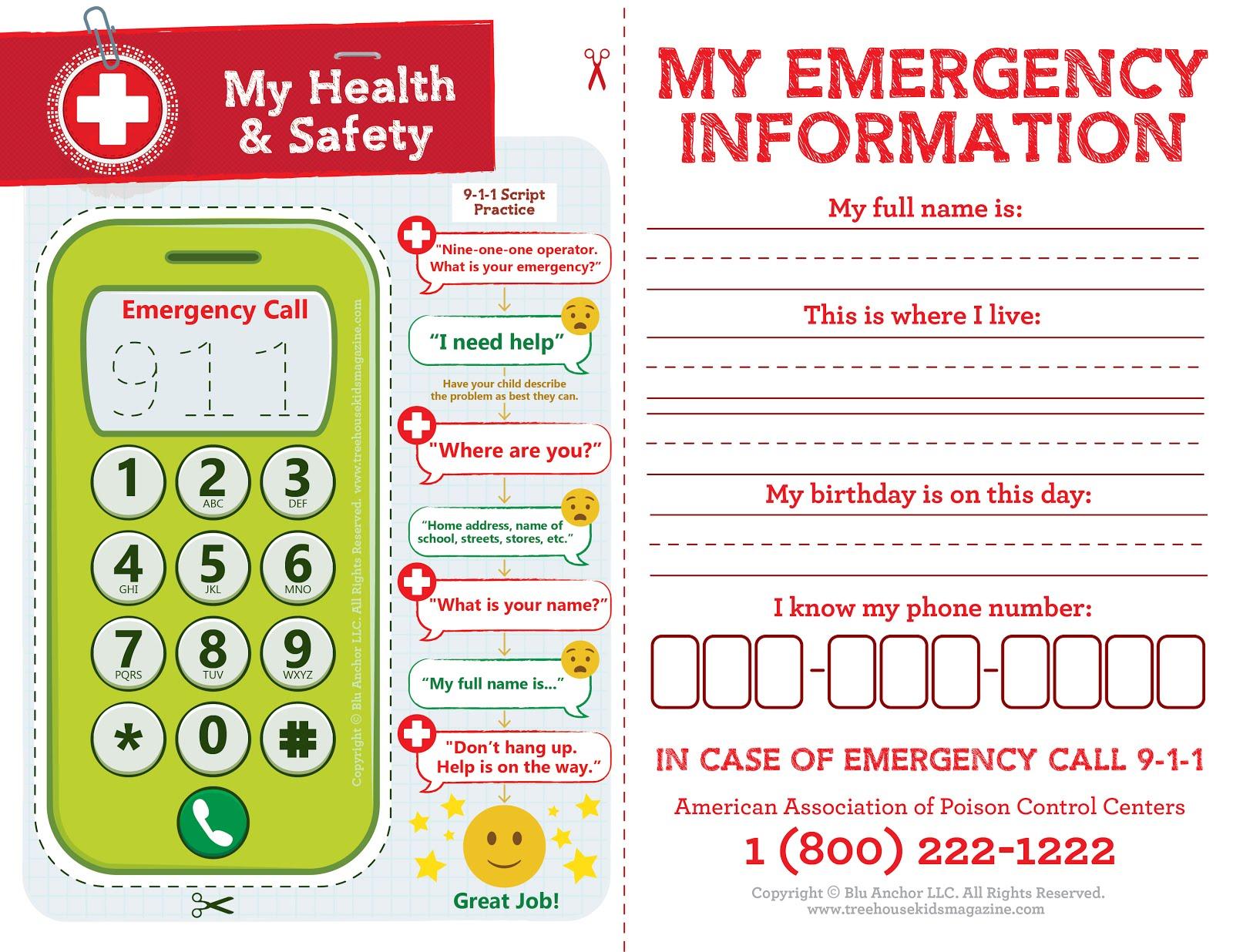 Treehouse Magazine My Health Amp Safety