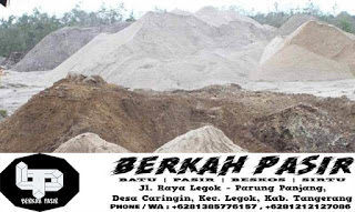 Jual Pasir Cilegon Murah Jakarta Bogor Tangerang Bekasi Cikarang