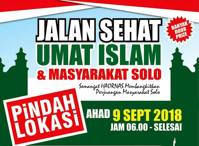Polresta Surakarta Akhirnya Memberi Ijin Acara Jalan Sehat Warga Solo