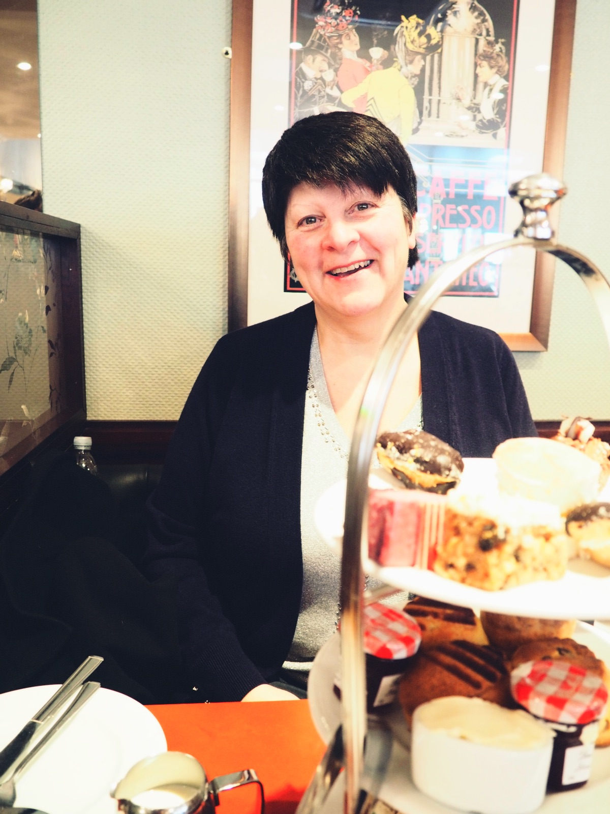 Afternoon Tea at Patisserie Valerie, The Brewery Review