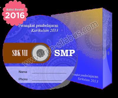 Jual RPP SBK Kelas VII SMP Edisi Revisi 2016 Kurikulum 2013
