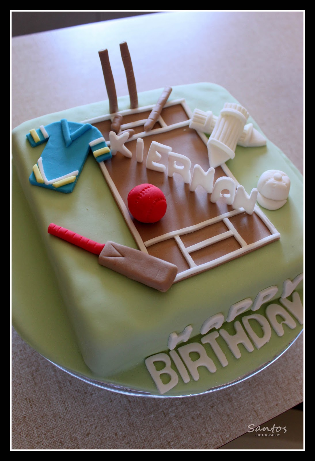 Project Cricket Theme Cake Little Things Matter Most