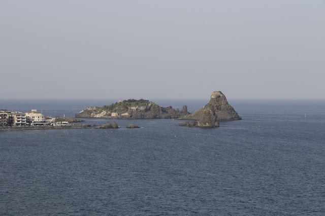 Vista dal Castello di Acicastello