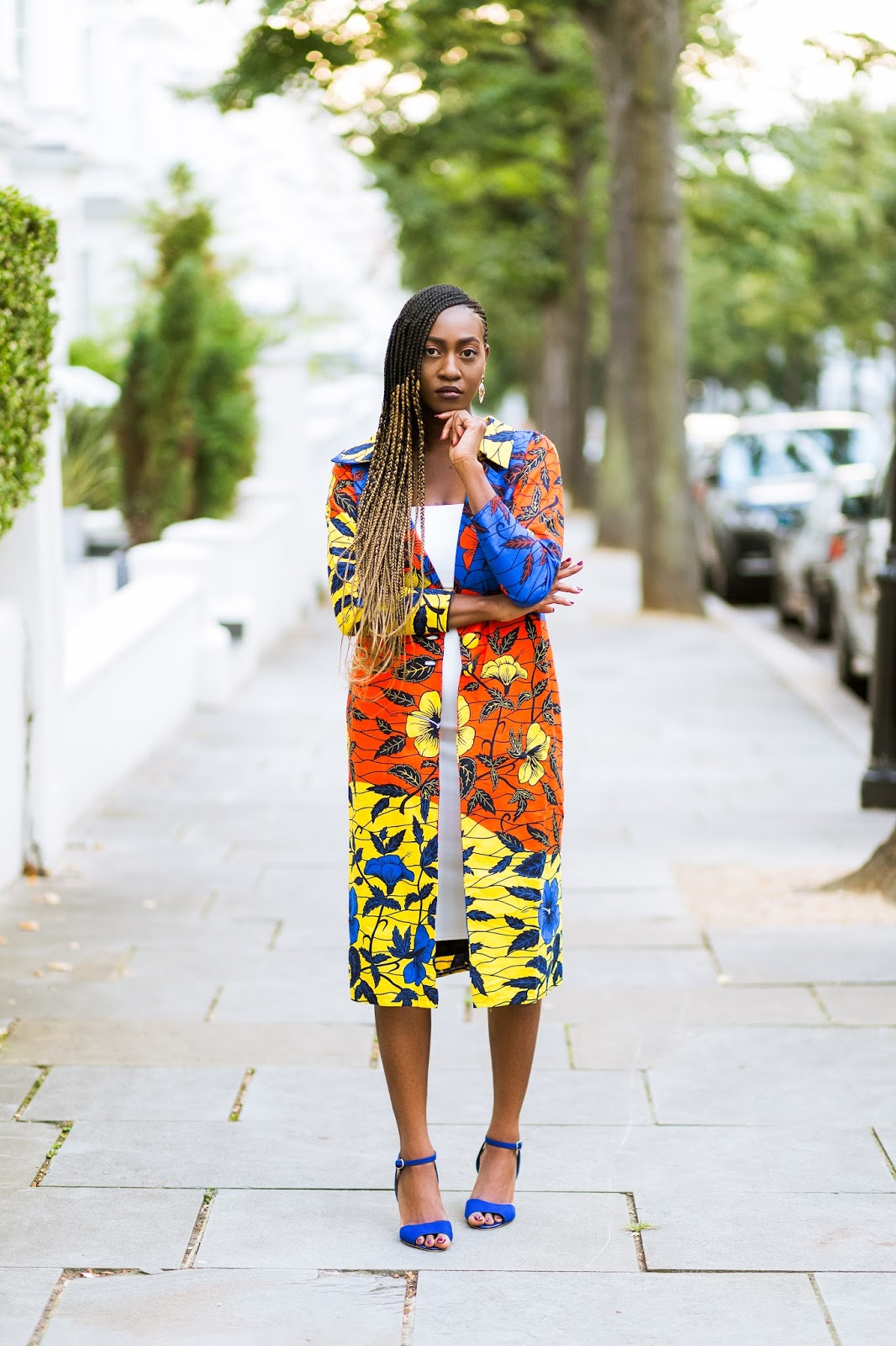 London Fashion Blogger Jennifer Amani