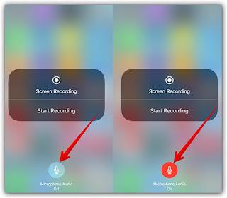 طريقة تسجيل الشاشة فيديو ايفون 6