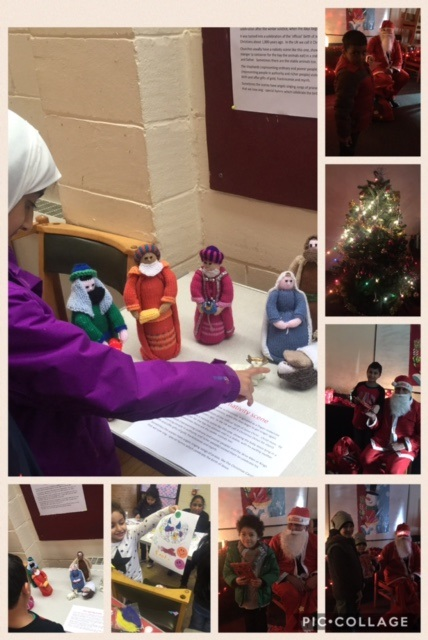 The Christmas nativity scene and more photos of our Christmas Fair