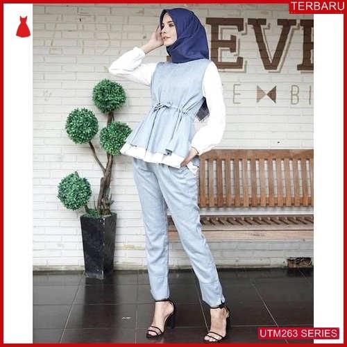 UTM263L72 Baju Lovimal Muslim Set Dewasa Pant UTM263L72 107 | Terbaru BMGShop