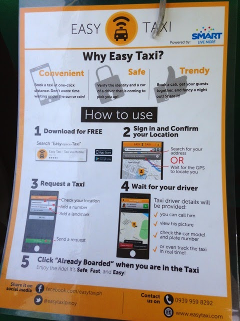 How to hail taxi cab in the Philippines using a mobile app?