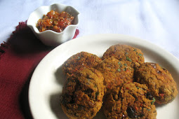 Spicy Lentil Patties with Sun-Dried Tomatoes