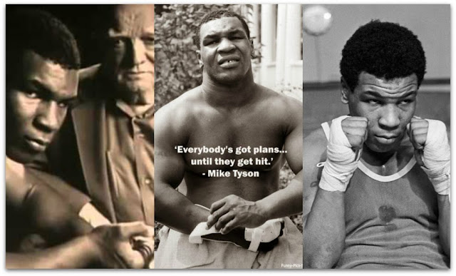 'Everybody's got plans... until they get hit.' - Mike Tyson
