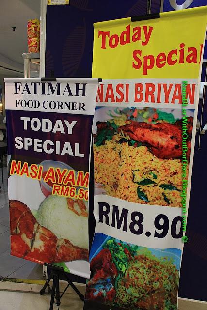 Food sales Signs, The Weld, Kuala Lumpur, Malaysia